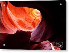 Antelope Canyon Portal Acrylic Print
