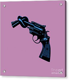 Anti Gun Acrylic Print by Tim Bird