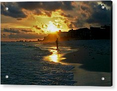 Anticipation At Sunset Acrylic Print
