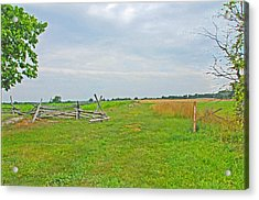 Acrylic Print featuring the photograph Antietam Battle Of The Cornfield by Cindy Manero