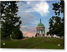 Antietam Maryland State Monument Acrylic Print by Judi Quelland
