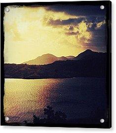 Antigua At Dusk Acrylic Print