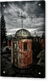 Antigua Stairwell Acrylic Print by Tom Bell