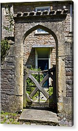 Antique Brick Archway Acrylic Print by Heiko Koehrer-Wagner