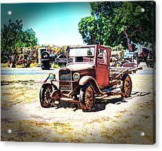 Antique Chevy Truck Acrylic Print