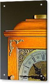 Antique Clock  Acrylic Print by Ken Hunter