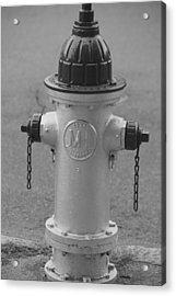 Antique Fire Hydrant Cambridge Ma Acrylic Print