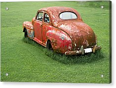 Antique Ford Car 5 Acrylic Print by Douglas Barnett