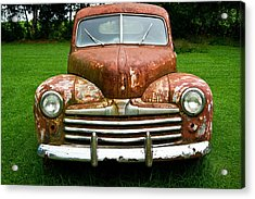 Antique Ford Car 8 Acrylic Print by Douglas Barnett