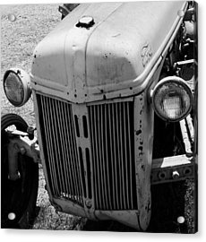 Antique Ford Tractor Acrylic Print by Toma Caul