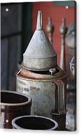 Antique Heaven I Acrylic Print by Sheila Rodgers