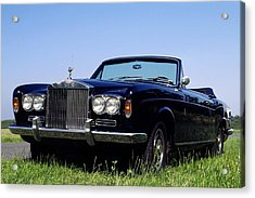 Antique Rolls Royce Acrylic Print