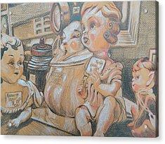 Antique Store Finds Iv Acrylic Print by Aleksandra Buha
