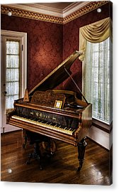 Antique Wein Grand Piano Acrylic Print