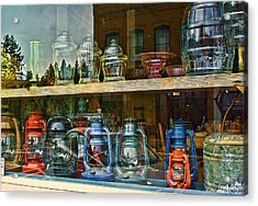 Antiques For Sale Acrylic Print by Dale Stillman