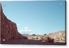 Anza Borrego Mountains Acrylic Print