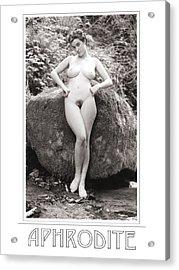 Aphrodite Acrylic Print by Ellis Christopher