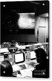 Apollo 11: Mission Control Acrylic Print