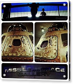 Apollo 15 Command Module (4th Mission Acrylic Print