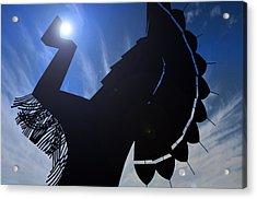 Acrylic Print featuring the photograph Apollo by Brian Duram