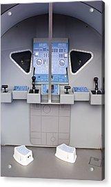 Apollo Lunar Module Cabin Mock-up Acrylic Print by Mark Williamson