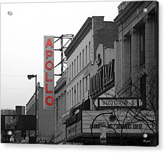 Apollo Theater In Harlem New York No.1 Acrylic Print