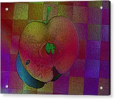 Acrylic Print featuring the photograph Apple Of My Eye by David Pantuso