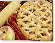 Apple Pie Acrylic Print by Stephanie Frey
