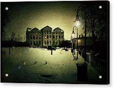 Appleton Waterfront Acrylic Print by Joel Witmeyer