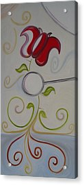 Appreciate - To Recognize With Gratitude. To Be Grateful For. Acrylic Print by Cory Green