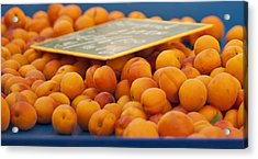 Apricots Acrylic Print by Georgia Fowler