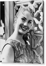 April Love, Shirley Jones, 1957 Acrylic Print