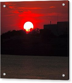 Apulian Sunset Acrylic Print