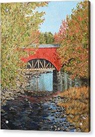 Aquaduct At Pt. Pleasant Acrylic Print