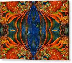 Aquarium Acrylic Print by Connie Dye