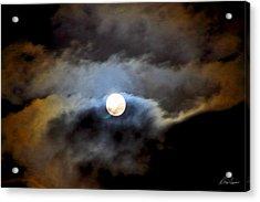 Aquarius Full Moon Acrylic Print