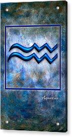 Aquarius  Acrylic Print by Mauro Celotti
