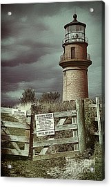Acrylic Print featuring the photograph Aquinah Light II Marthas Vineyard by Jack Torcello