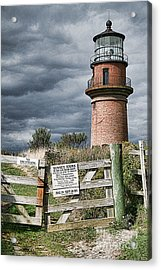Acrylic Print featuring the photograph Aquinnah Light I Marthas Vineyard by Jack Torcello