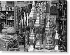 Arab Bazaar Acrylic Print by Paul Cowan