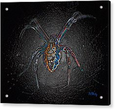 Acrylic Print featuring the photograph Arachnophobia by Patrick Witz