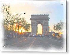Arc De Triomphe I Acrylic Print by Thomas Frias
