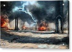 Arc Towers Acrylic Print by Ethan Harris