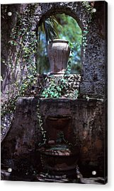 Arch And Urns Acrylic Print