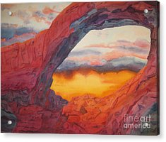 Arch Element Too Acrylic Print by Vikki Wicks