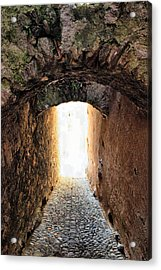 Arch In The Alley Acrylic Print by Ettore Zani