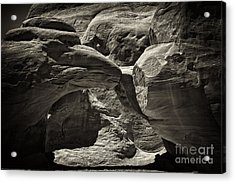 Arch Acrylic Print by Linda Constant