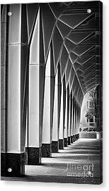 Arched Passageway Acrylic Print by Danuta Bennett