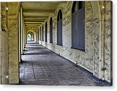 Arched Windows And Wall Acrylic Print
