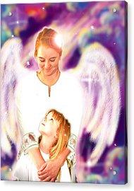 Archer. Angelic 4 Acrylic Print by Nada Meeks